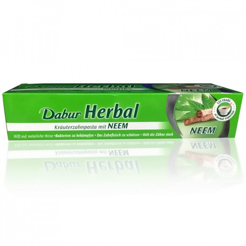 DABUR HERBAL - Pasta dentífrica Neem